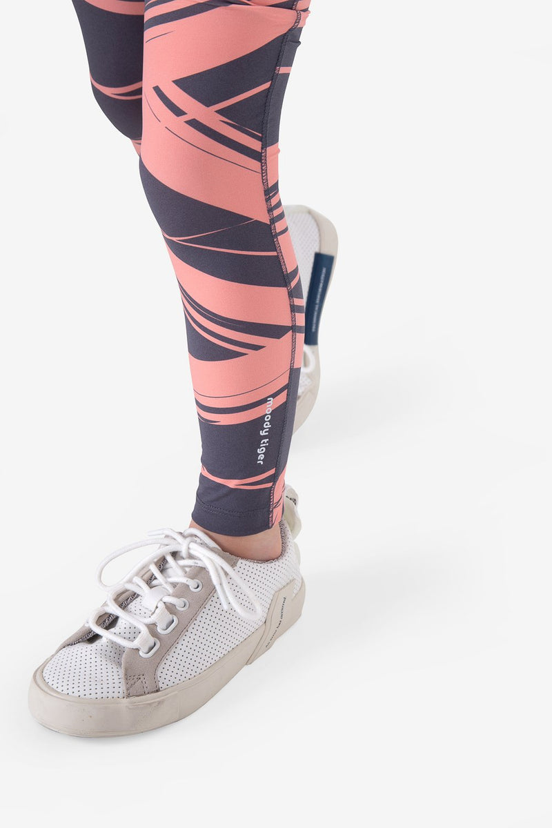 UPF50+ Breezy Legging - Stripes Dark