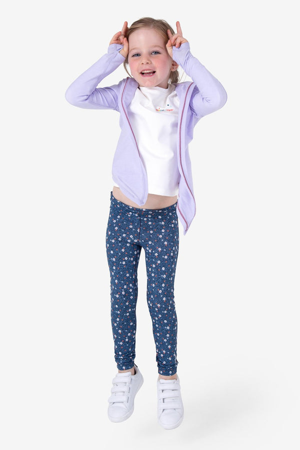UPF50+ Breezy Legging - Denim Floral