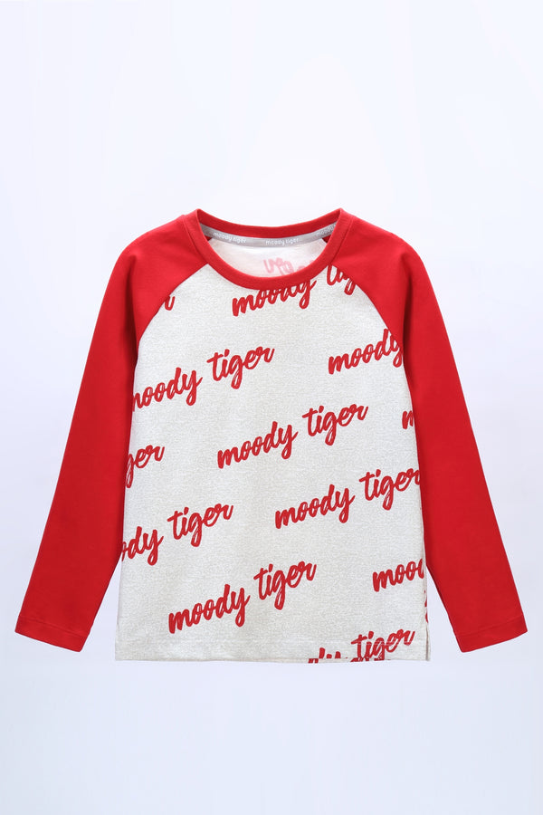 Hopscotch Raglan Sweat