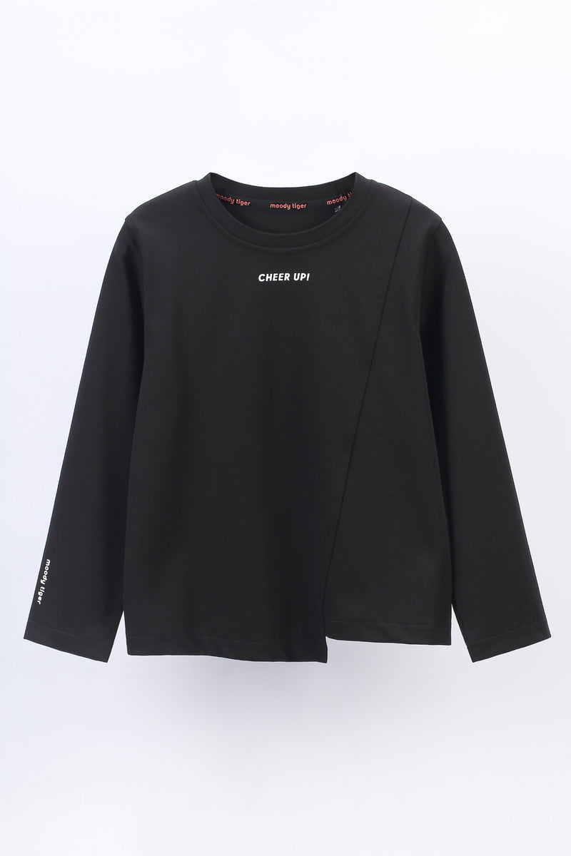 Morning Glory Long Sleeve - Black
