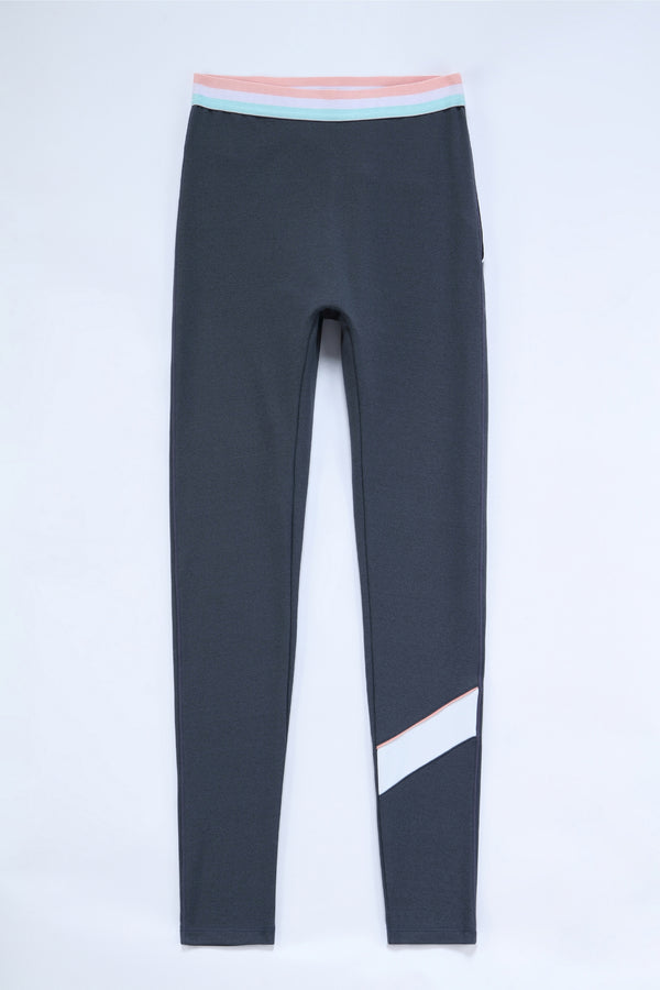 Joyful Legging (with fleece)- Stretch Limo (Woman)