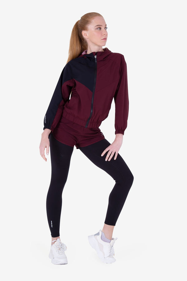 Urban Mountain Windbreaker - Burgundy (Woman)