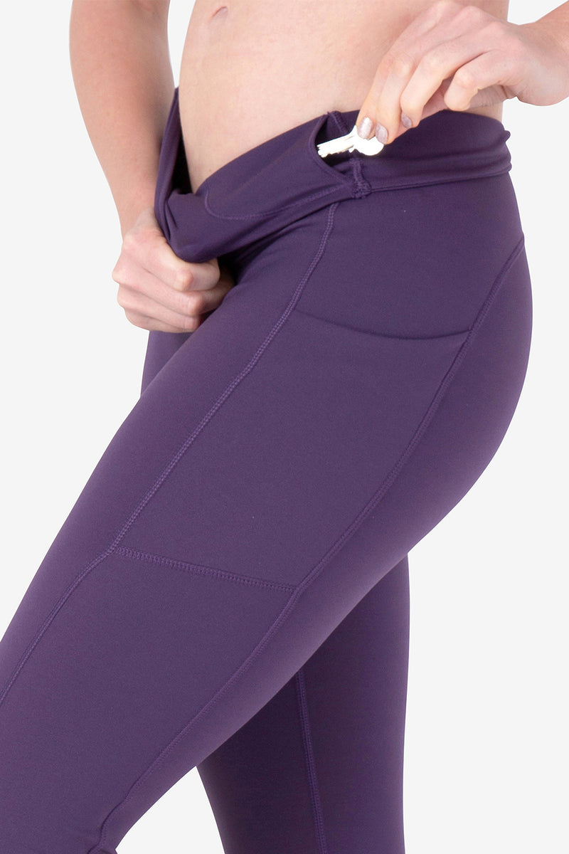 Hide and Seek leggings-Prussian (Woman)