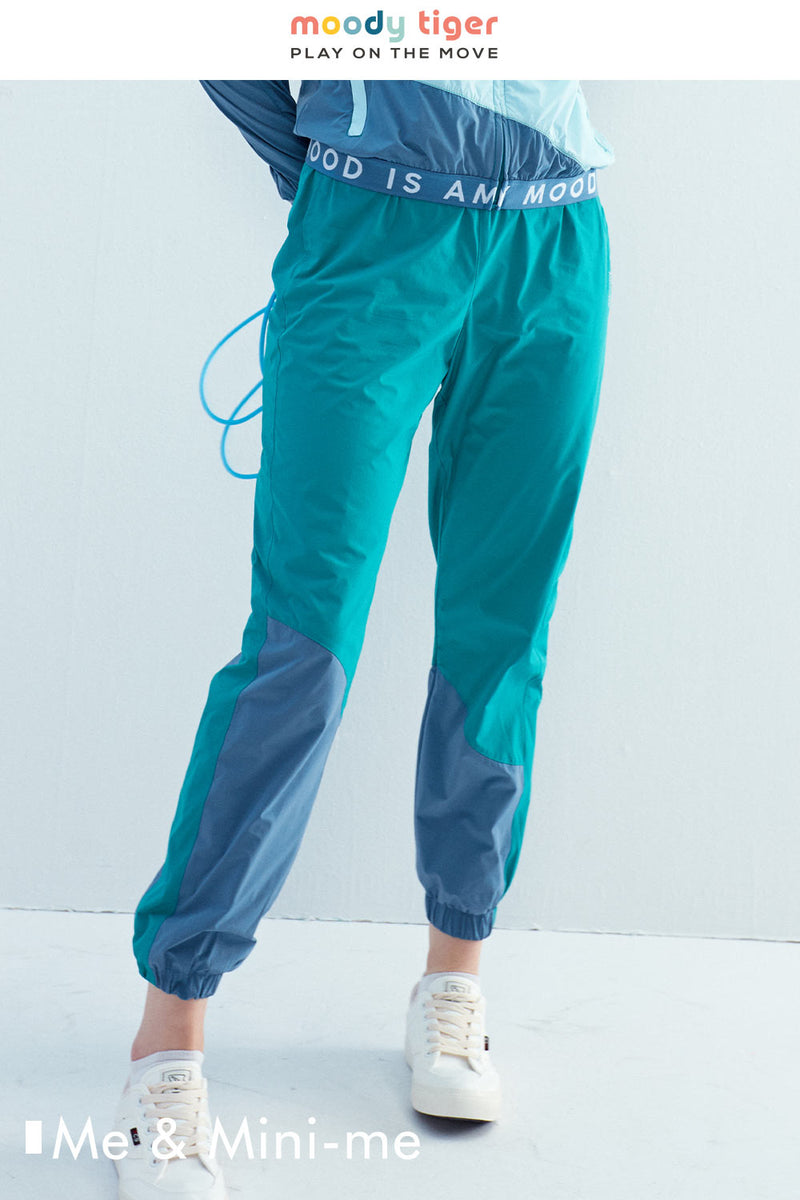 LT WEIGHT COLOUR BLOCKING PANTS (Woman) - Parasailing