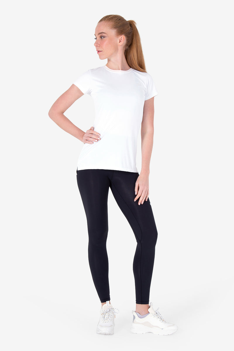 Here To Move Short Sleeve - White (Woman)