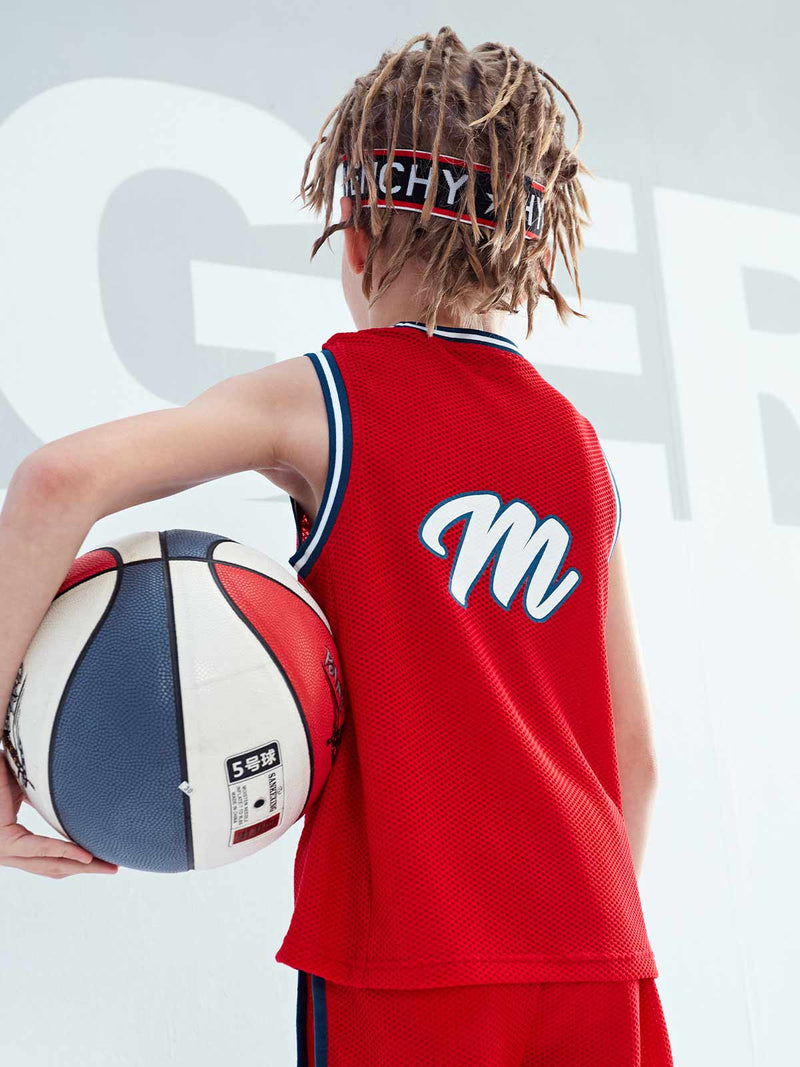 SS20 Unisex | BASKETBALL TANK TOP - Barbados Cherry