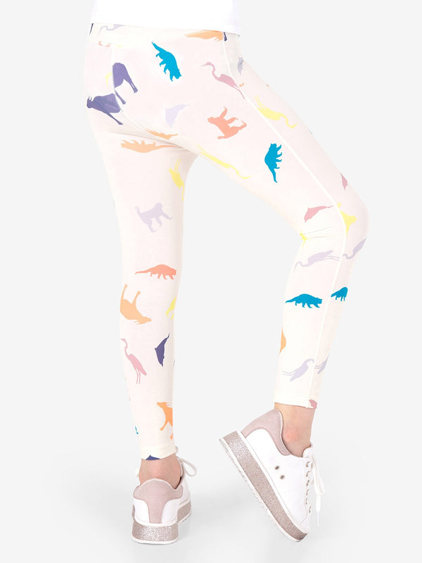 UPF50+ Breezy Legging -Animal Rock