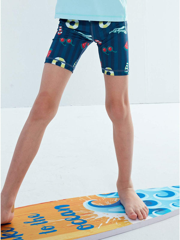 SS20 | DRY & WET BIKE PANT - Beach Tropical
