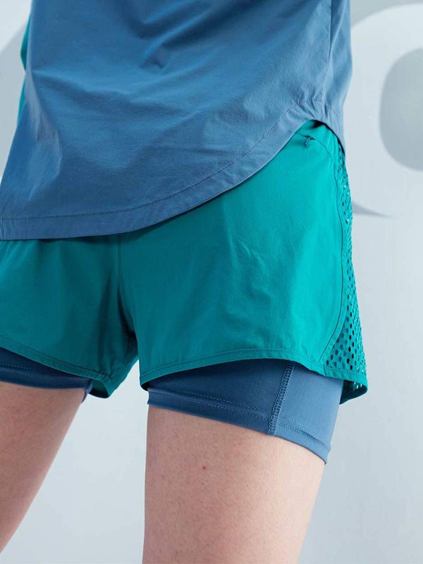 LT WEIGHT COLOUR BLOCKING SHORT - Parasailing