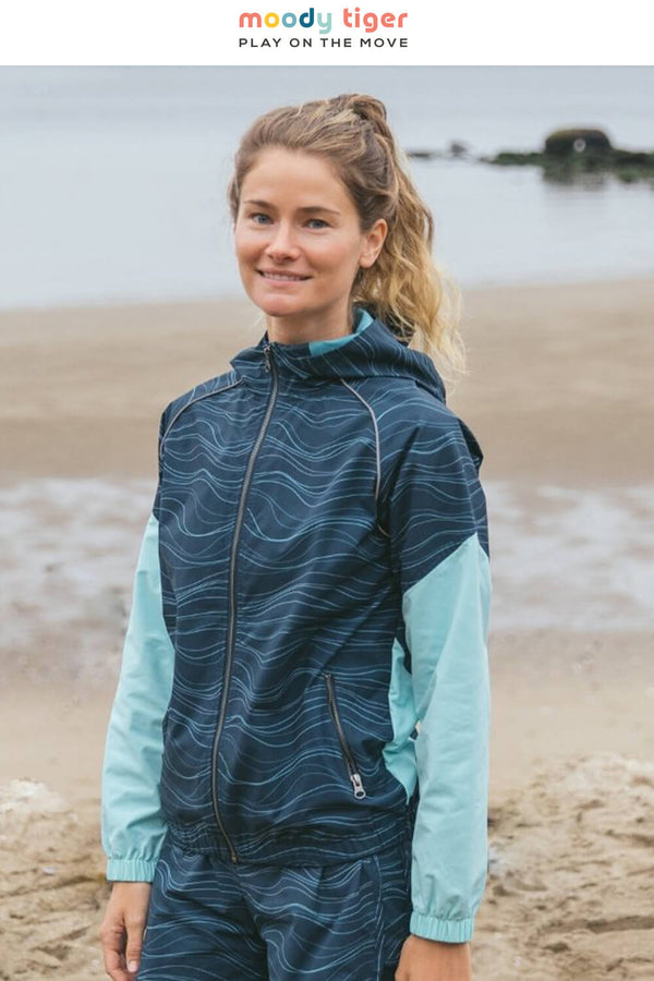 Rebel Blockade Runner Jacket- Purist Blue (Woman)