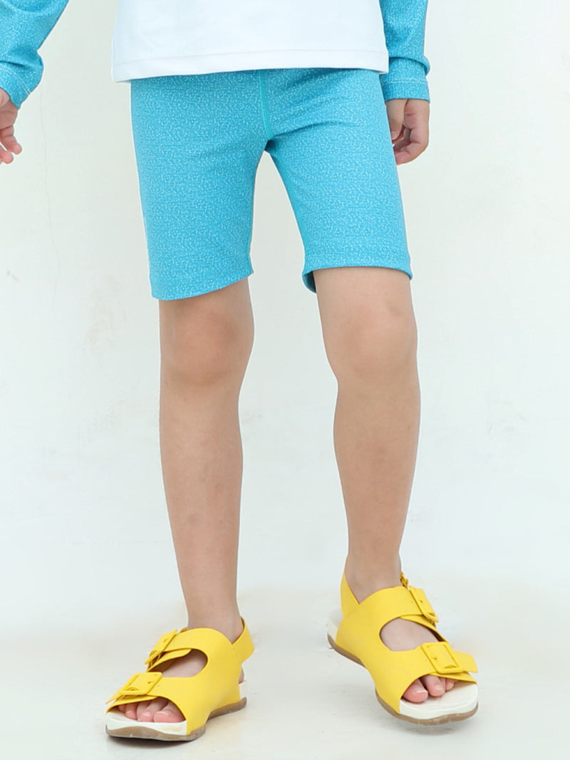 Jumping Moody Bike Short - Bondi Blue