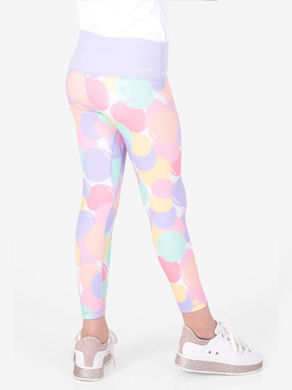 Rock, Paper, Scissors Leggings - Bubble Fun