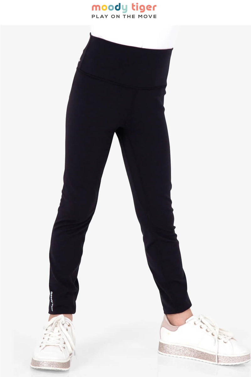 Rock, Paper, Scissors Leggings - Black