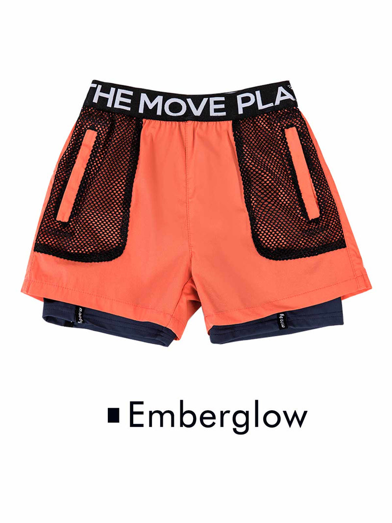 SS20 | BOYS SHORTS WITH LEGGINGS