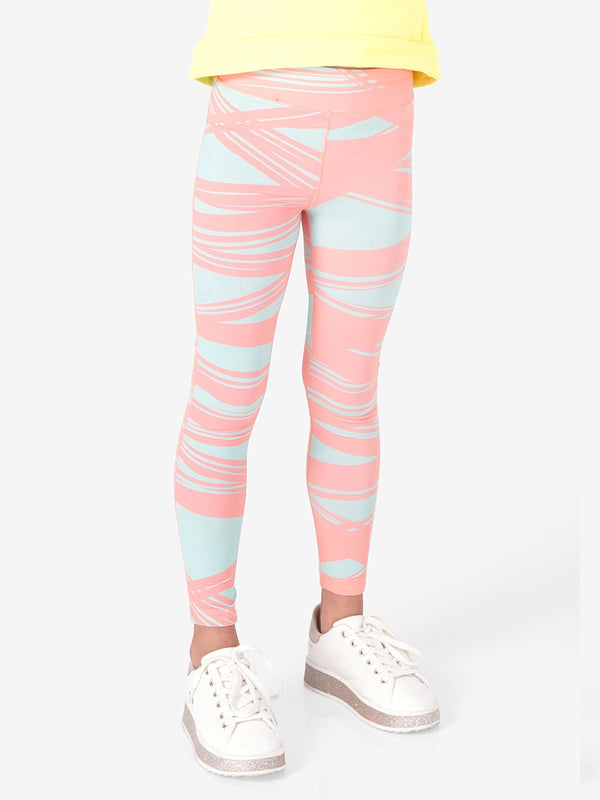 UPF50+ Breezy Legging - Stripes Light