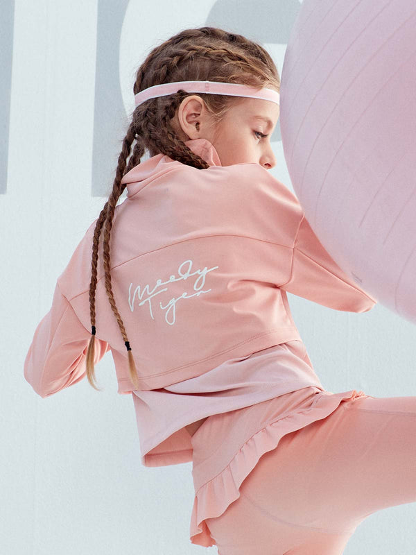 SS20 | UPF50+ HIGH COLLAR LONG SLEEVES - Peach Pink