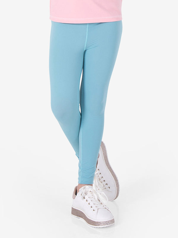UPF50+ Breezy Legging - Nile Blue