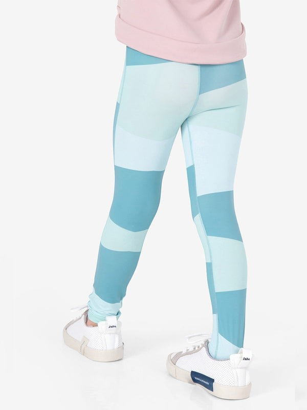 UPF50+ Breezy Legging - Block blue