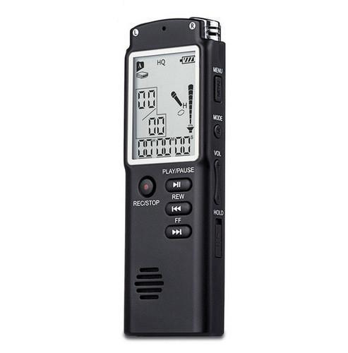 GIEFTU T60  Professional 8GB Time Display Recording Digital Voice Audio Recorder Dictaphone MP3 Player - thebluedream.net