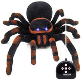 Abbyfrank Realistic Electronic Fake Remote Control Spider Miniature Toys Model Similation Prank Trick Anti Stress Toy Gadgets - thebluedream.net