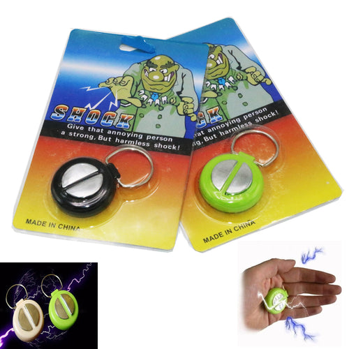 1pcs April Fools Day Electric Shock Handshake Joke Prank Funny Electronic Toys - thebluedream.net