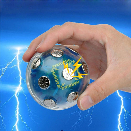 Funny Toy Electronic Shock Ball Shocking Hot Potato Game Novelty Gift Fun Joking For Party Drinking Games Gadget Toy Board Game - thebluedream.net