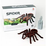 Prank toy Infrared remote control flash spider animal toy Electronic pets - thebluedream.net