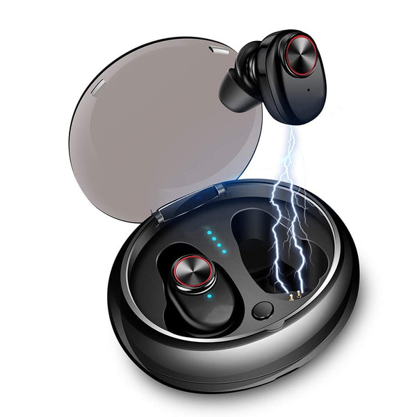 Bluetooth Earphone With V4.2+EDR Stereo Sound V5 Wireless Earphone Built-in Microphone Hands-free Calling Bluetooth TWS Earbuds - thebluedream.net