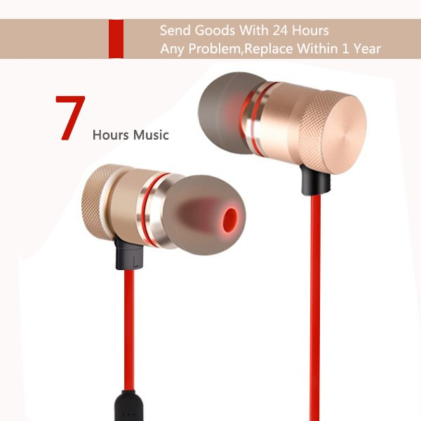 FBYEG F40 Bluetooth Headphones wireless Bluetooth Earphones Sports Stereo Headset Magnetic Earpieces With Mic For Android iPhone - thebluedream.net