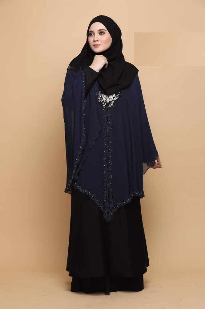 Fancy Flower Abaya