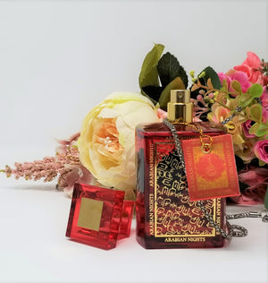 Women's Red Arabian Nights Oud Eau De Parfum (100ml)