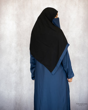 Load image into Gallery viewer, Hafsa Abaya Navy Blue