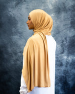 Golden Jersey Hijab