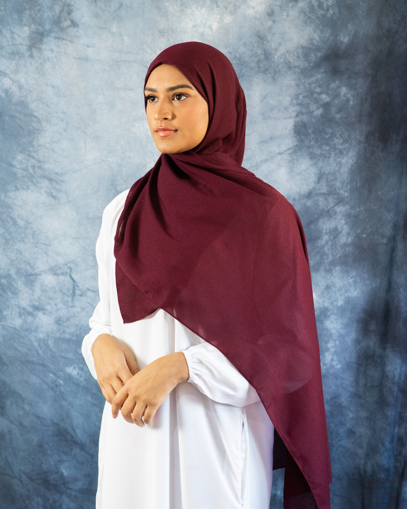 Load image into Gallery viewer, Maroon Galaxy Hijab