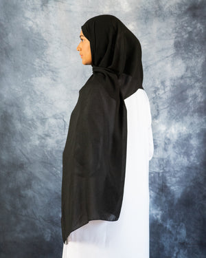 Load image into Gallery viewer, Black Galaxy Hijab