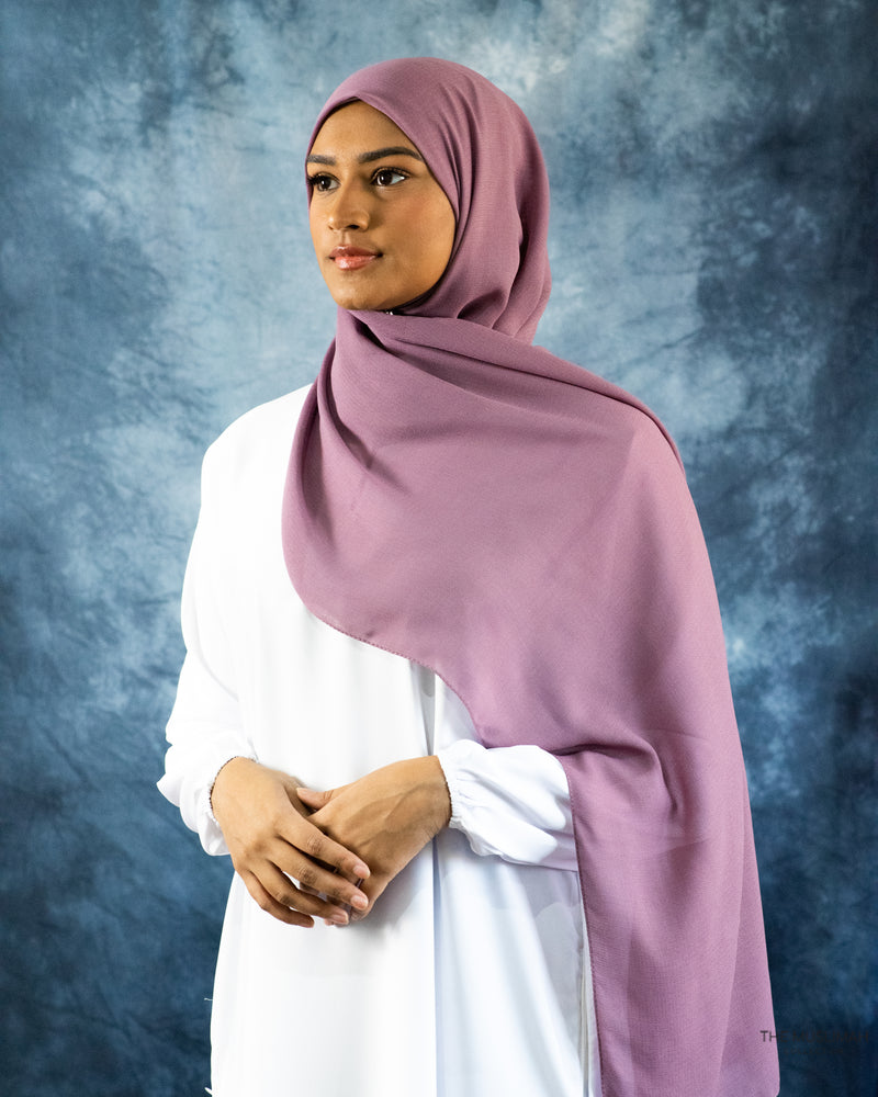 Plum Galaxy Hijab