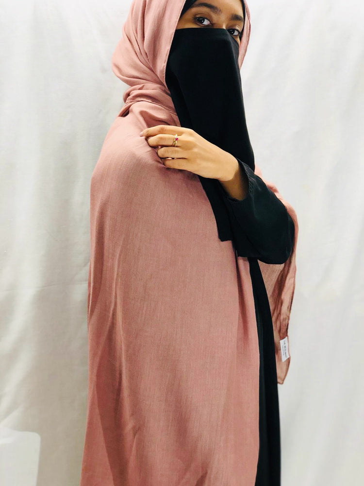 Light Mauve Superior Viscose Modal Hijab