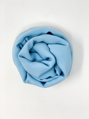 Load image into Gallery viewer, Baby Blue Chiffon Hijab