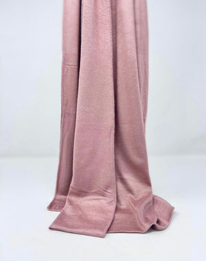 Load image into Gallery viewer, Dusty Pink Jersey XL Hijab