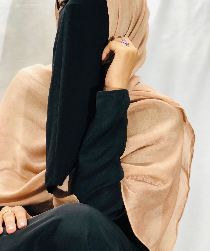 Load image into Gallery viewer, Cappuccino Superior Viscose Modal Hijab