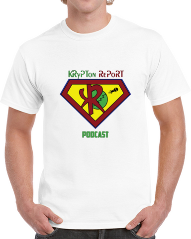 c3329771e Official T-shirt Of The Krypton Report Podcast T Shirt
