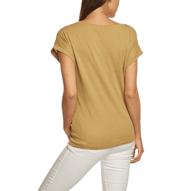 Edc By Esprit Women's Crew Neck Short Sleeve T Shirt