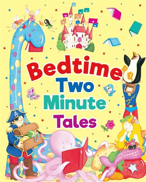 BEDTIME TWO MINUTE TALES PADDED BOOK