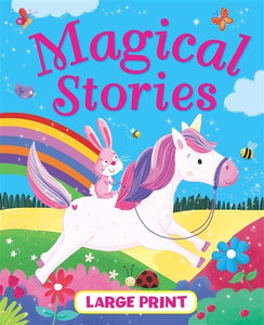 LARGE PRINT MAGICAL STORIES BOOK