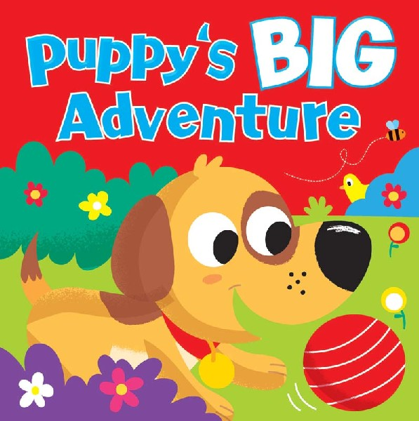 PUPPYS BIG ADVENTURE CHILDRENS BOOK