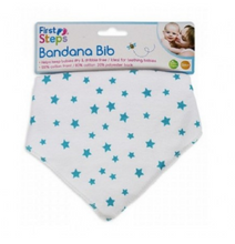 FIRST STEP BANDANA BIB
