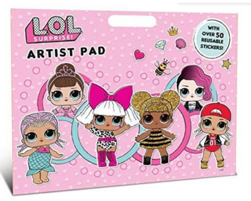 LOL SURPRISE JUMBO ARTIST PAD