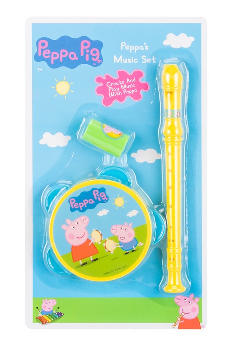 PEPPA PIG MUSIC SET