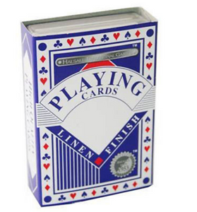 Pack of Linen Finish Traditional Playing Cards -