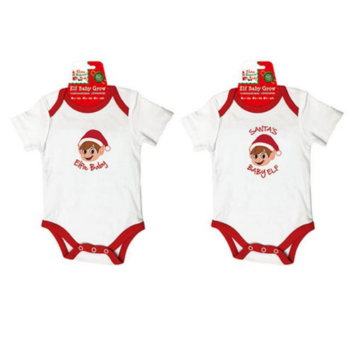Embroidered Baby Elf Bodysuit